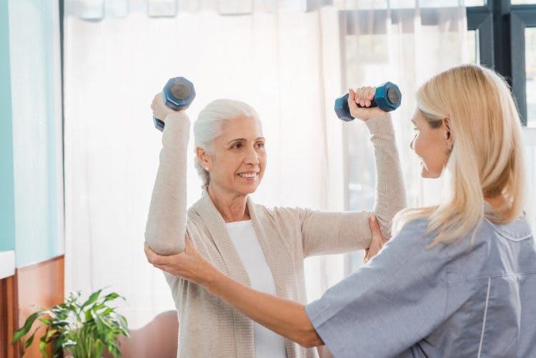 Odzyskiwanie ruchu ramion