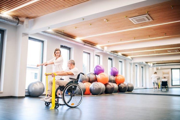 Udar mózgu porażenie połowicze hemiplegia ćwiczenia rehabilitacja